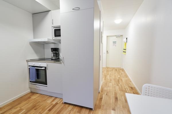 Bålsta Apartment Hotel kitchen