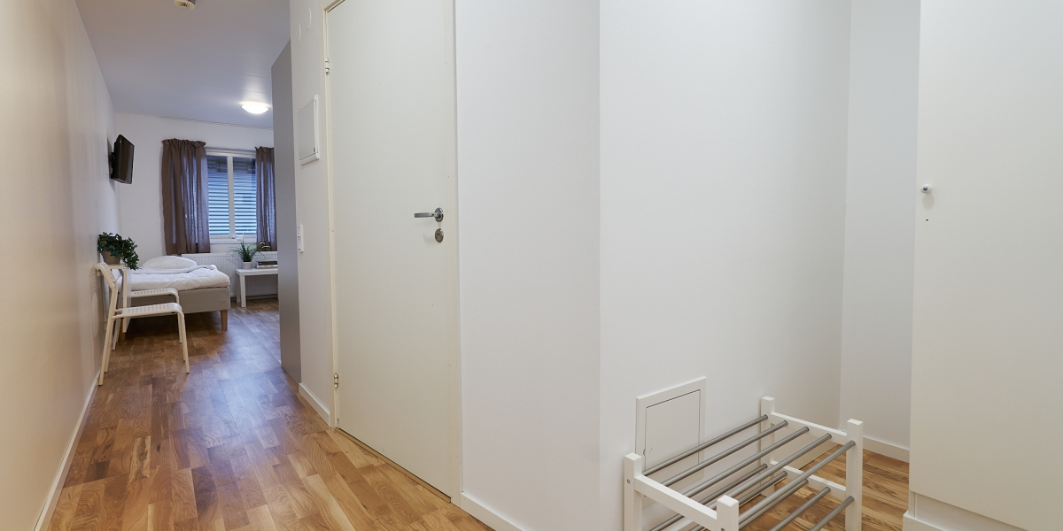 Fully equipped apartments with 2 beds
